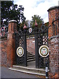 TM2649 : The Gates to Seckford Hospital by Adrian Cable