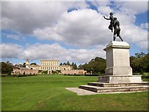 SU9185 : Cliveden House from the Statue by Len Williams