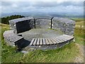 SN8395 : Wynford Vaughan Thomas Memorial and viewpoint by Oliver Dixon