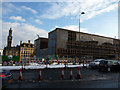 SE1632 : Partially demolished police headquarters, Bradford by Phil Champion