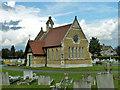 TQ5382 : Chapel, Rainham Cemetery by Robin Webster