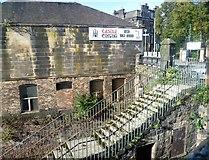 NT2671 : Former Newington Station steps, Minto Street by kim traynor