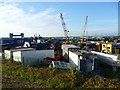TQ5378 : Scrapyard city by Marathon
