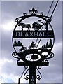 TM3657 : Blaxhall Village sign by Adrian Cable