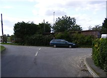 TM3656 : School Road Junction by Adrian Cable