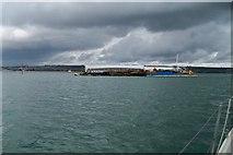 SU6202 : Scrap Ferry Pontoon - Portsmouth by Colin Babb