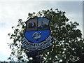 SP7026 : Steeple Claydon Village Sign by Finlay Cox