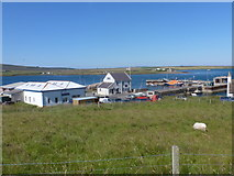 ND3090 : Longhope: looking over the harbour by Chris Downer