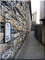 SH7877 : Access to Conwy Town Walls from Berry Street by Phil Champion