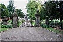 SK1820 : Entrance to Dunstall Hall, Dunstall by Mick Malpass