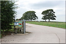 SK2125 : The Entrance to Anslow Eggs by Mick Malpass