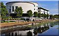J2764 : The Civic Centre, Lisburn (3) by Albert Bridge