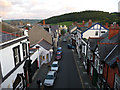 SH7777 : Bangor Road from Conwy Town Walls by Phil Champion