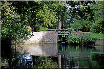 TL5646 : The mill pond, Linton, Cambridgeshire by M H Evans