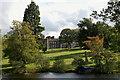 NT1736 : Stobo Castle across the loch by Jim Barton