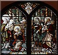 TQ4285 : St Mary, Church Road, Little Ilford - Stained glass window by John Salmon