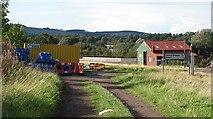 NT9629 : Pipeline works, Bendor by Richard Webb