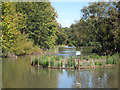 TQ5901 : Pond at Hampden Park by Oast House Archive