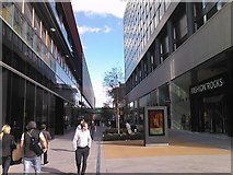 TQ3884 : View of the shopping arcade in Westfield Stratford City by Robert Lamb