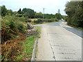 SO3205 : Small curved stone bridge, A4042 north of Penperlleni by Jaggery