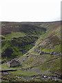 NY9301 : Blakethwaite Mine ruins by Karl and Ali