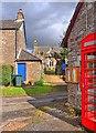 NN9224 : St Bean's Church, Wester Fowlis by Martin Ragg