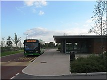 SU4726 : Park and ride, Winchester South by Alex McGregor