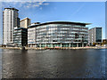 SJ8097 : BBC, Media City by David Dixon