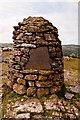 SD4487 : Lord's Seat Whitbarrow Scar Canon G A K HERVEY Memorial by Martin