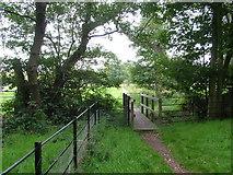 TM4258 : Footbridge, Blackheath by John Goldsmith