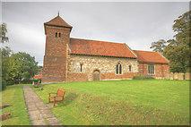 TA0015 : Bonby St Andrews Church by JOHN BLAKESTON