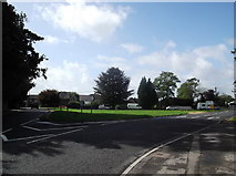 SU3007 : Road junction in Lymington by andrew auger