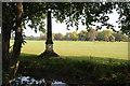 TQ1774 : Obelisk on the Kew Meridian by Philip Halling