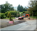 ST3097 : Sand to replenish the Greenmeadow golf club bunkers, Cwmbran by Jaggery