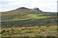 SX7576 : Ilsington: towards Saddle Tor by Martin Bodman