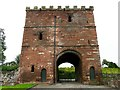 NY4654 : Wetheral Priory Gatehouse by Rose and Trev Clough