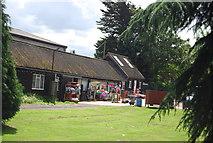 TQ5784 : Farm shop, Manor Farm by N Chadwick