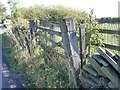 SE2606 : Disused field gate, south side of North Lane by Christine Johnstone