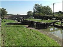 SU2562 : Kennet and Avon Lock number 58 by Stuart Logan