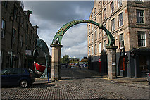 NT2676 : Entrance to Commercial Quay by Anne Burgess