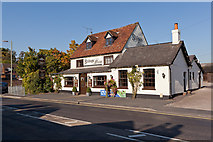 SU3521 : Bishops Blaize pub, Winchester Road by Peter Facey