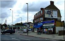 TQ1979 : Shops at Gunnersbury Avenue by Thomas Nugent