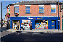 SU3521 : Romsey Home Hardware shop by Peter Facey