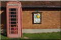 SP4469 : Telephone box at Draycote by Stephen McKay