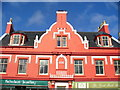 NB4232 : Victorian Gable, Stornoway by Colin Smith