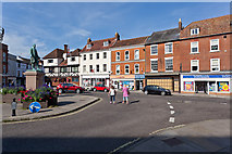 SU3521 : The Square, Romsey by Peter Facey