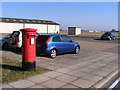 TM3453 : Building 8 Bentwaters Park Postbox by Adrian Cable