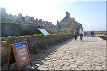 SW5130 : Harbour front, St Michael's Mount by hayley green