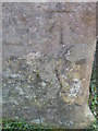 NO2151 : Bench Mark, Gauldswell Farm by Maigheach-gheal