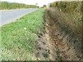 SE4809 : Dyr drainage ditch, Moorhouse Lane by Christine Johnstone